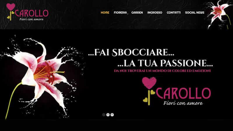 siti internet vicenza Carollo Fiori