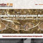 siti internet vicenza Fantin fratelli torneria in Lastra Sarcedo Vicenza