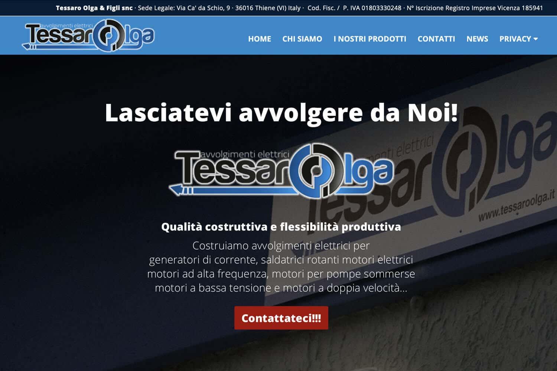 Tessaro Olga e Figli overprint snc siti internet vicenza