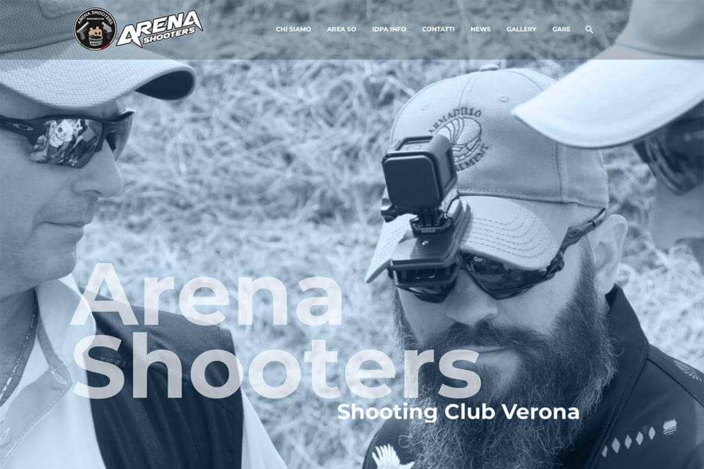 Sito Internet Arena Shooters Club IDPA