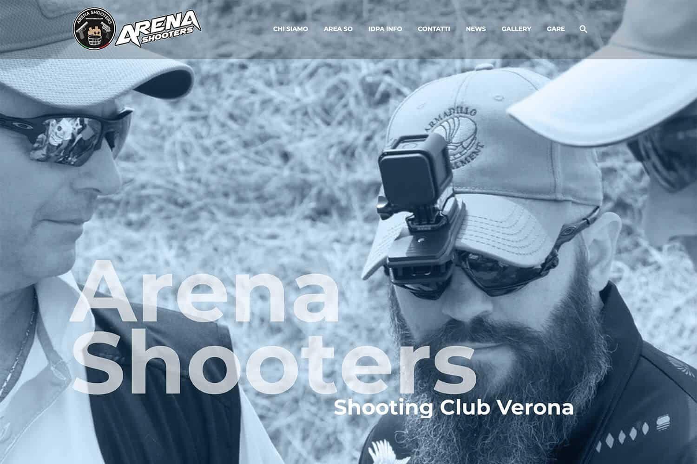 Sito Internet Arena Shooters Club IDPA