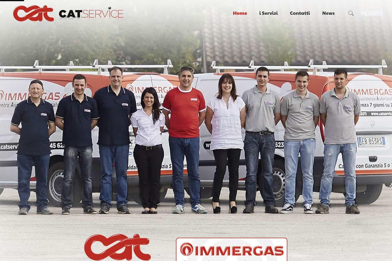 Sito Internet C.A.T. Service Manutenzione Caldaie