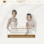 Sito Internet l'Atelier Abiti Da Sposa