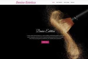 Sito Internet Denise Estetica
