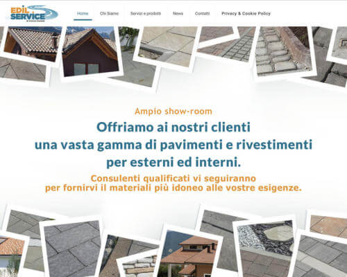 Sito Internet Edil Service Scocco