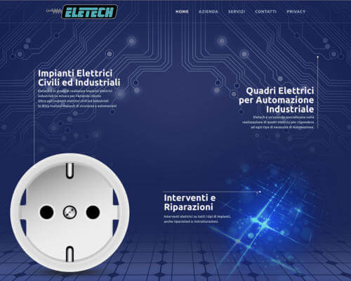 Sito Internet Eletech Buzzaccaro