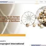 Sito Internet Europroject International