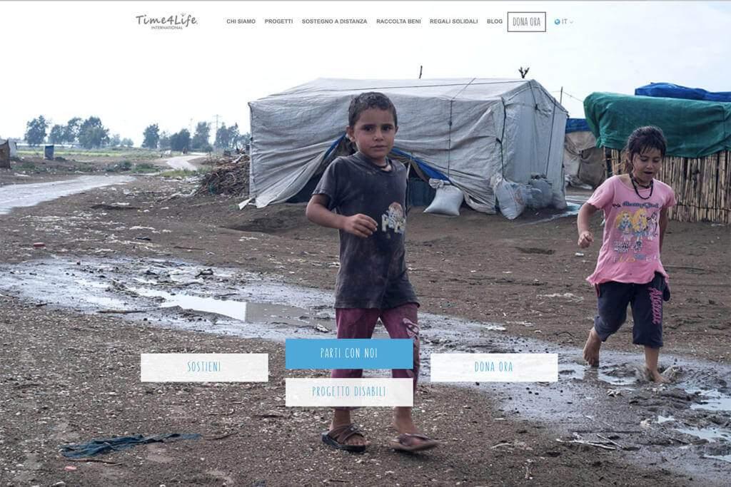 Sito Internet Fondazione Time4Life