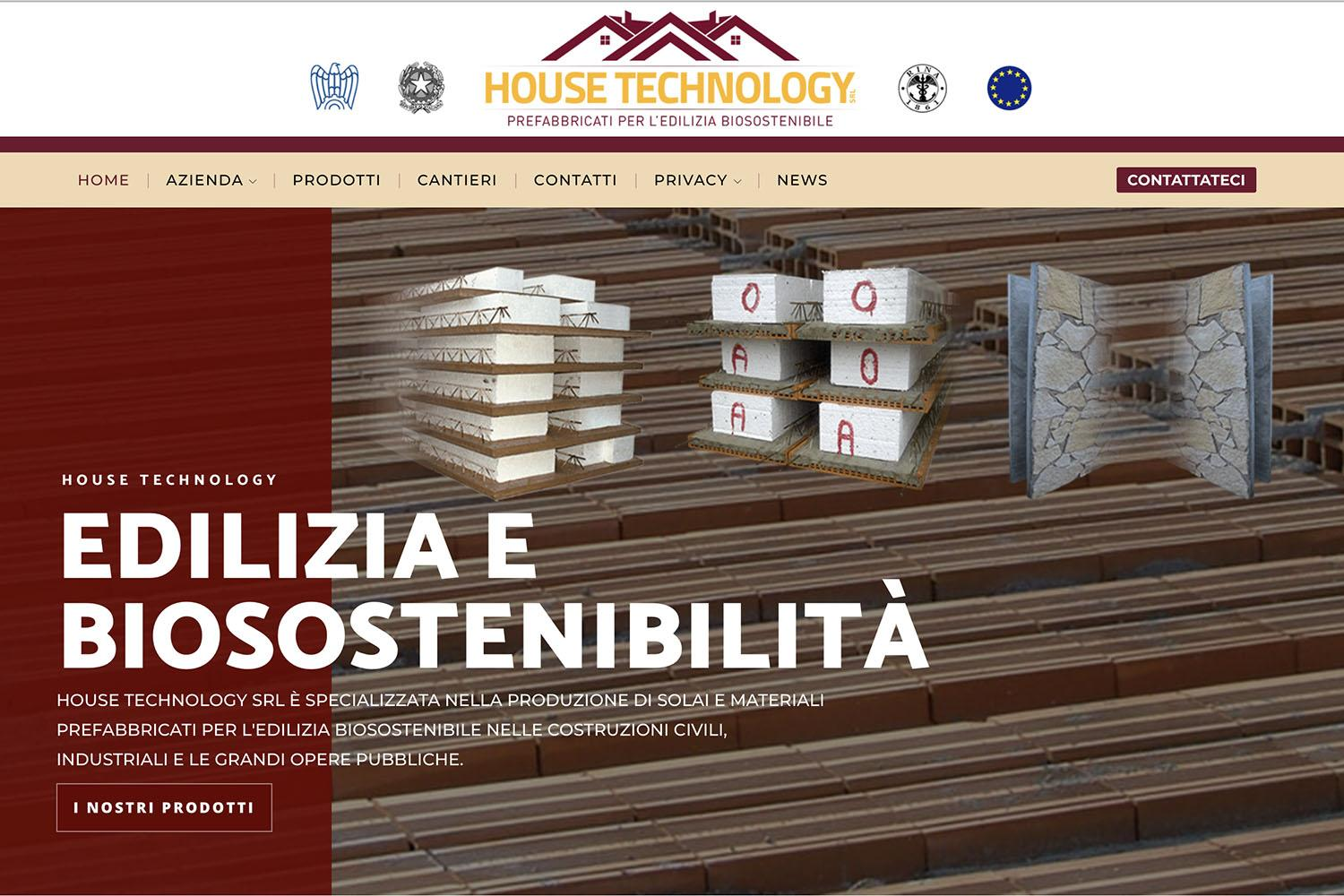 Sito Internet House Technology
