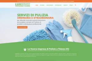 Sito Internet Lux Service Pulizie
