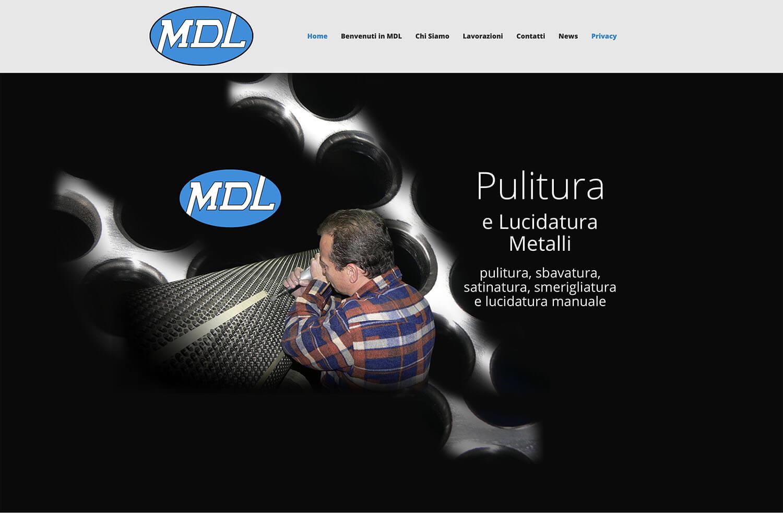 Sito Internet MDL Lucidatura Metalli