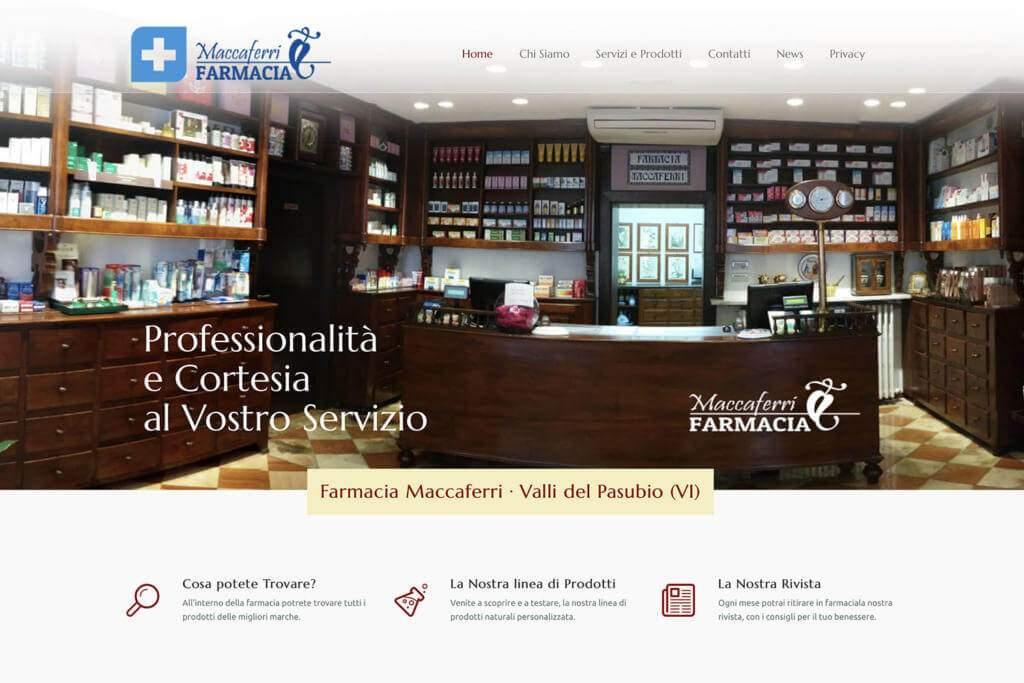 Sito Internet Farmacia Maccaferri