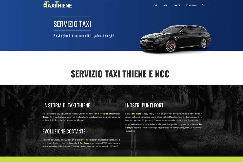 Sito Internet NCC Taxi Thiene
