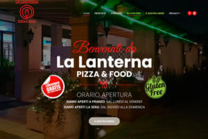 Sito Internet Pizzeria La Lanterna