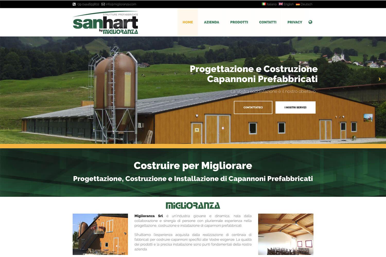 Sito Internet Sanhart Miglioranza
