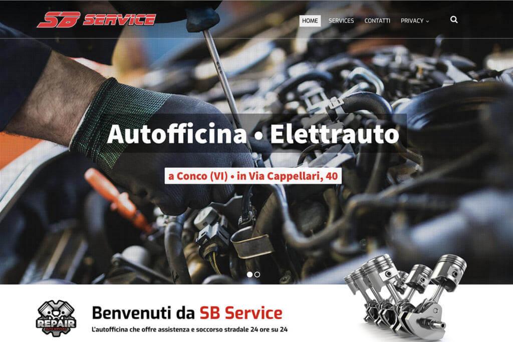 Sito Internet Autofficina SB Service