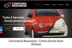 Sito internet Carrozzeria Bassanese