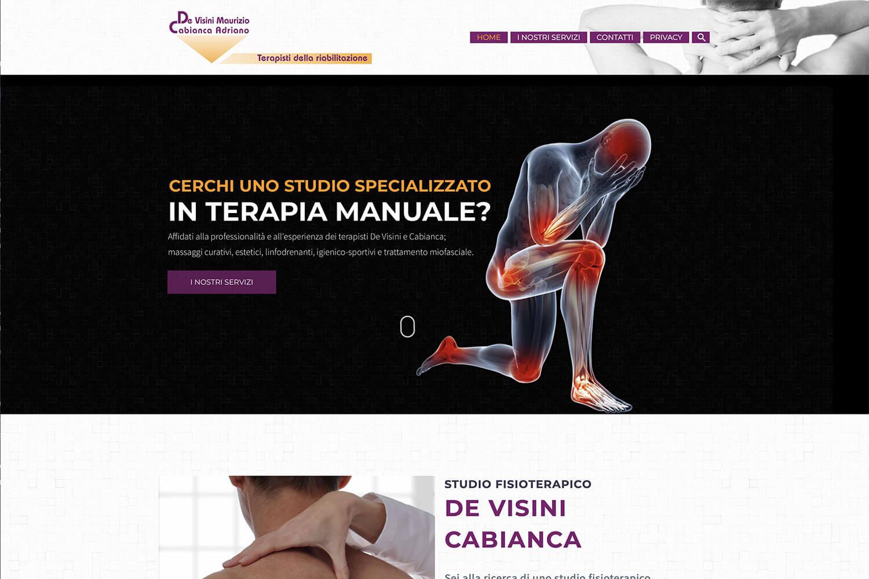 Sito Internet Fisioterapia De Visini Cabianca