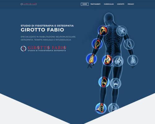Sito Internet Fisioterapia Osteopatia Girotto