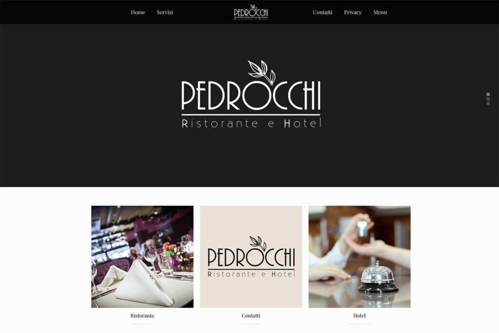 Sito Internet Hotel Pedrocchi