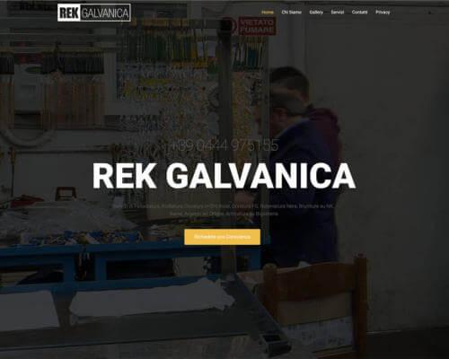 Sito Internet Rek Galvanica