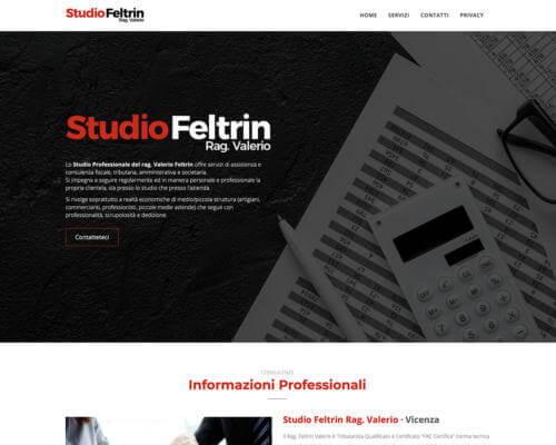Sito Internet Studio Feltrin