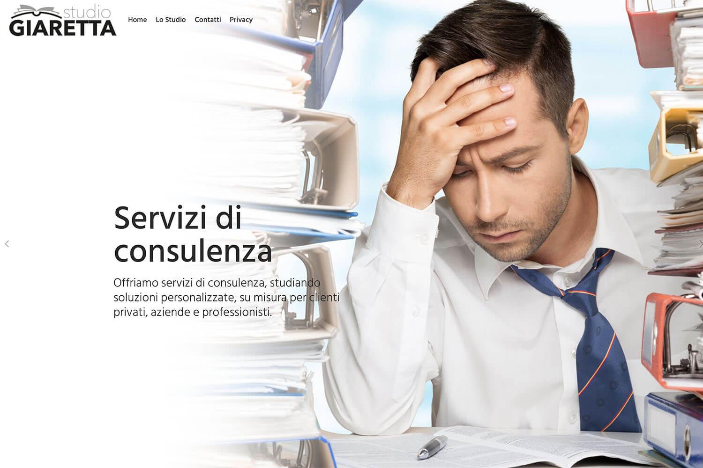 Sito Internet Studio Giaretta