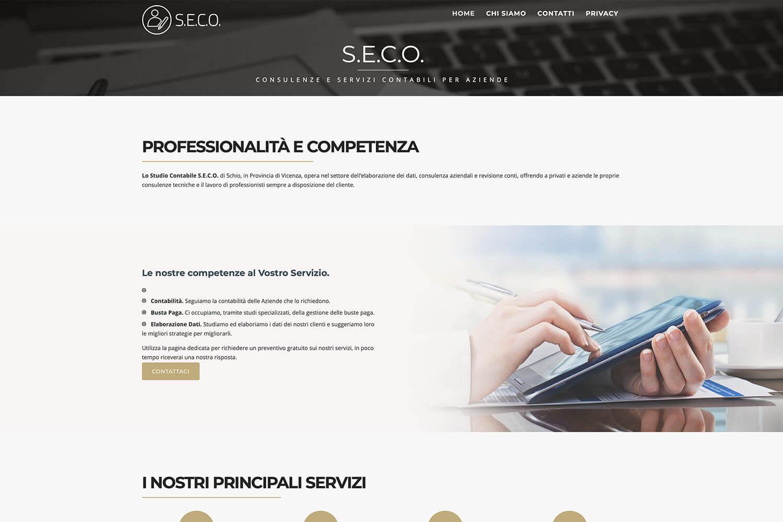 Sito Internet Studio Seco