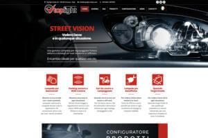 Sito Internet Top Light Italia