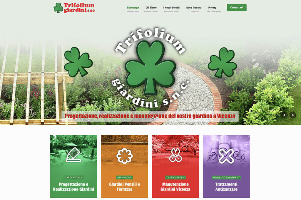 Sito Internet Trifolium Giardini