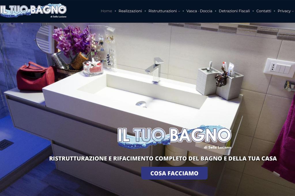 Sito Internet Il Tuo Bagno Luciano Sella