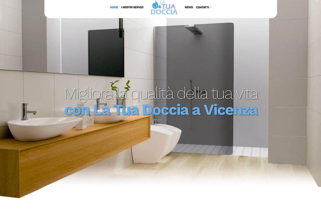 Sito Internet La Tua Doccia Vicenza