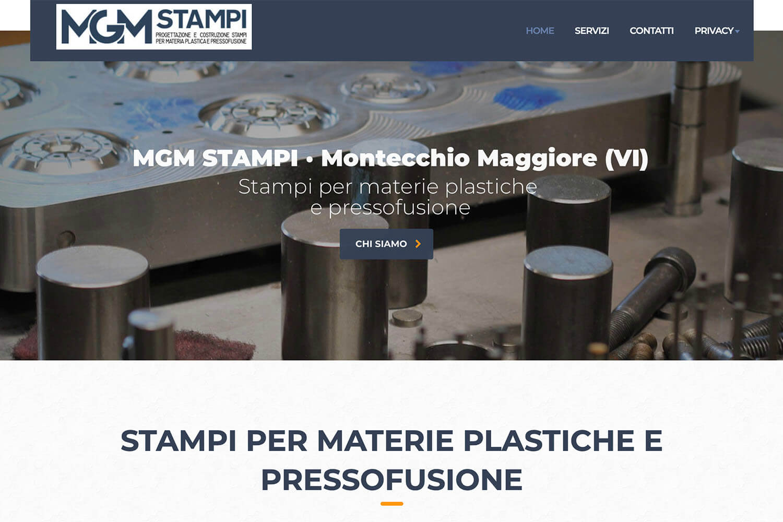 Sito Internet MGM Stampi