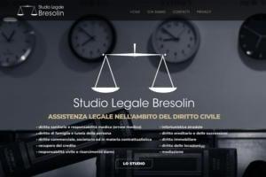 Sito Internet Studio Legale Bresolin