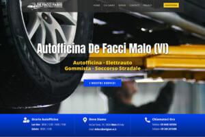 Sito Internet Autofficina De Facci Fabio