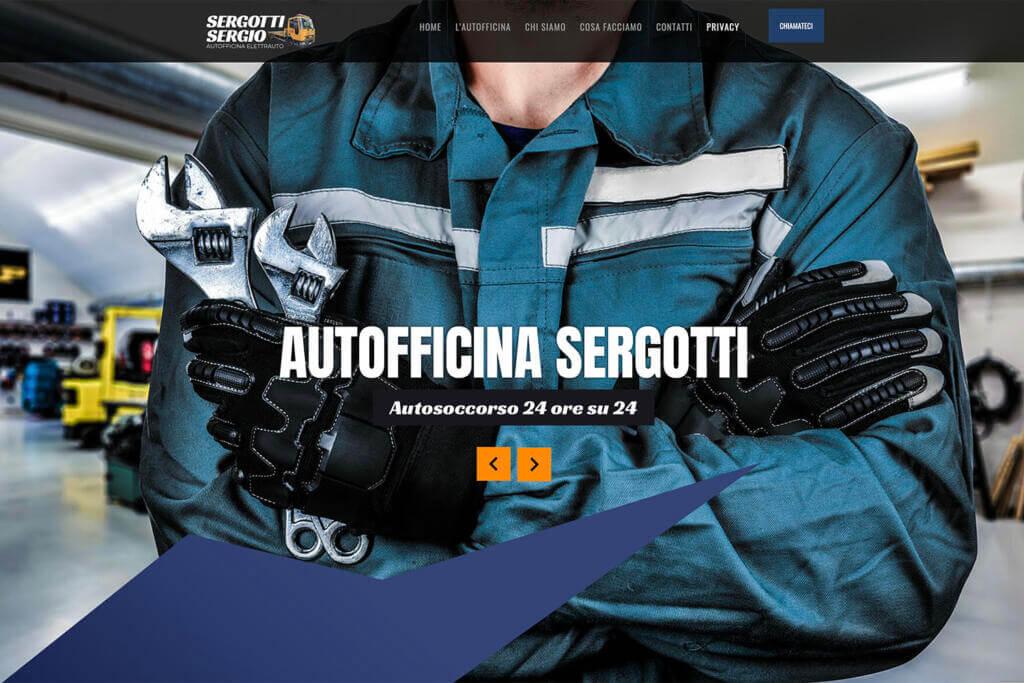 Sito Internet Autofficina Sergotti