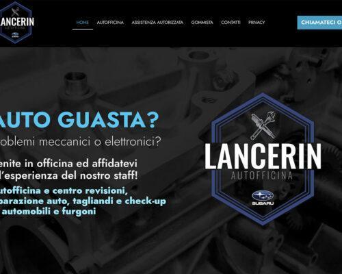 Sito Internet Autofficina Lancerin