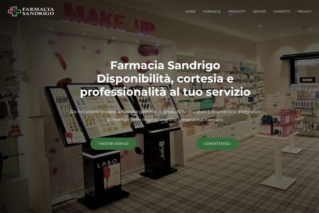 Sito Internet Farmacia Sandrigo