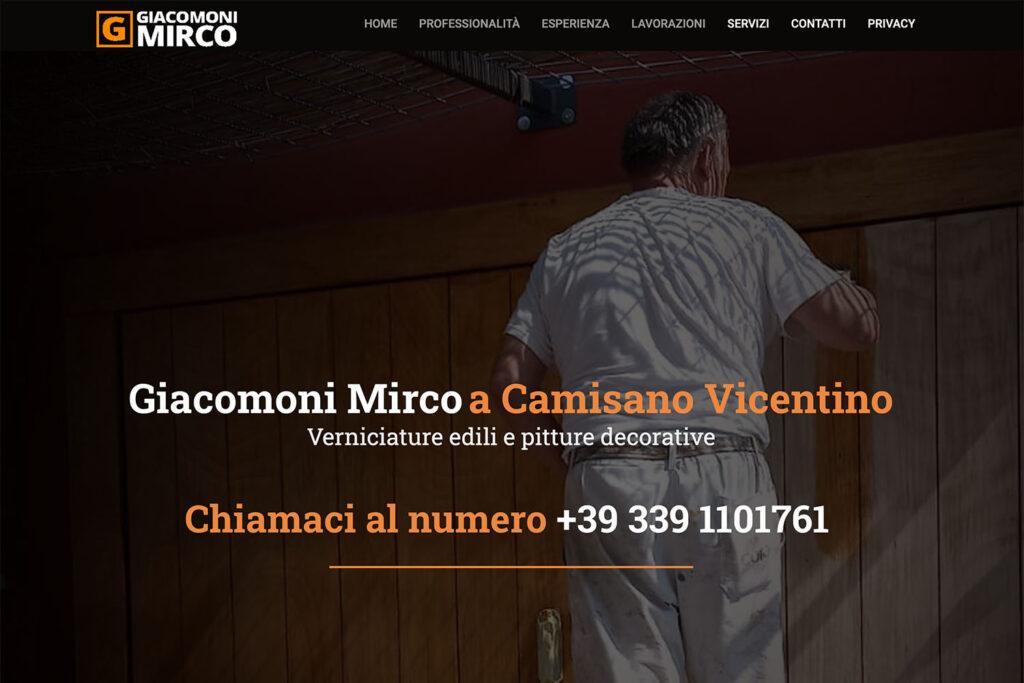 Sito Internet Giacomoni Mirco