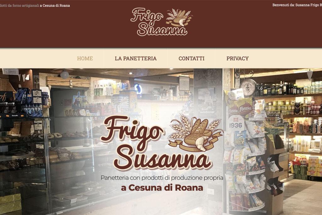 Sito Internet Susanna Frigo